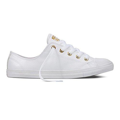 Converse All Star Dainty Ox Femme Baskets Mode Blanc