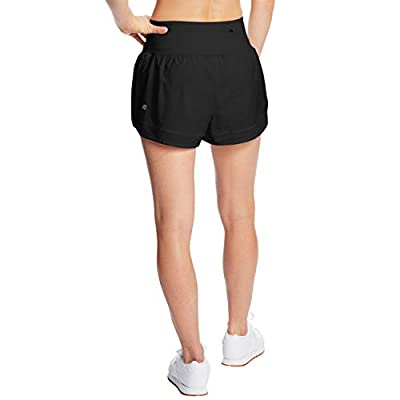 "C9 Champion Women's 3.5"" Knit Premium Running Shorts: Clothing"