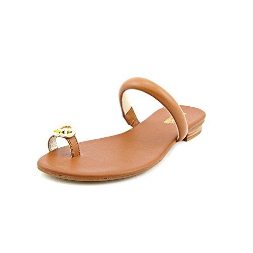 UPC 888386204102, MICHAEL Michael Kors Nora Toe Thong Sandal,Luggage,8.5 M US