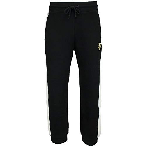 Puma Striped Shorts - PUMA Women's x Fenty by Rihanna Fitted Panel Sweatpants Cotton Black Large