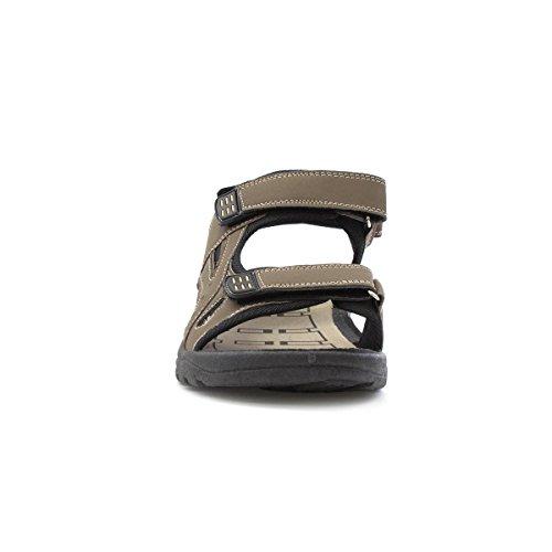 Red Fish Einfaches Schließendes Sandale IM Braun für Männer durch Braun