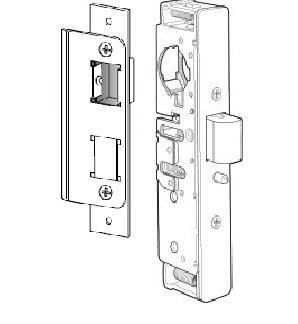 Adams Rite 4900-45-101-313 Heavy Duty Deadlatch For Aluminum Stile Doors (1-1/2