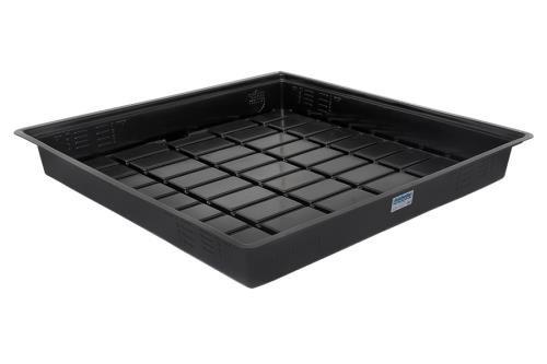 - Duralastics Trays Black Inside Dimension (ID) Duralastics Tray 4 ft x 4 ft ID - Black