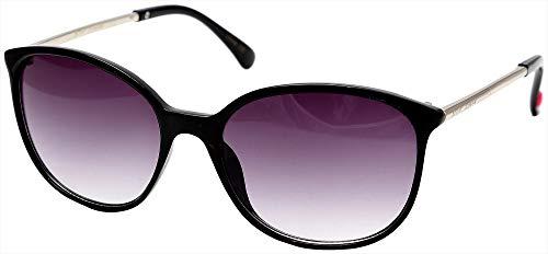 Sunglasses For Oval Face Men - Betsey Johnson Women's BJ874163 Black One