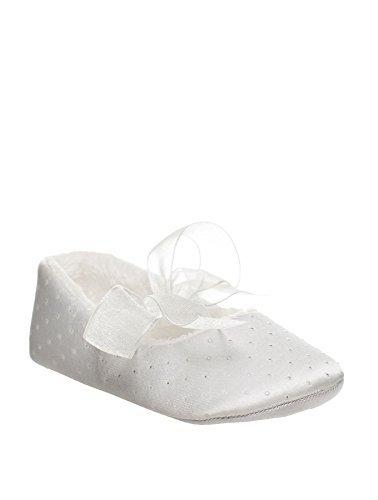 Sevva, bebé zapatos para niña, De niña zapatitos para bautizo, Niñas pequeñas zapatos, bebé 0 - 4 Marfil