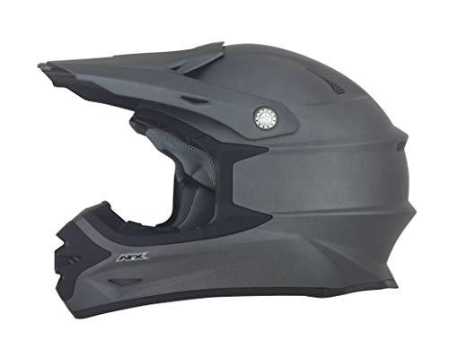 - AFX FX-21 Unisex-Adult Off-Road-Helmet-Style Helmet (Frost Gray, Medium)