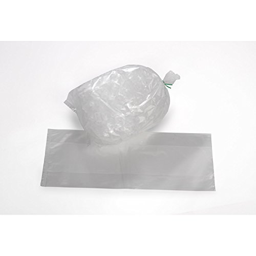18'' x 36'' x 3 mil Clear Eco-Manufactured Plastic Ice Bags (Case of 250) by Smart Tech Plastic Bags