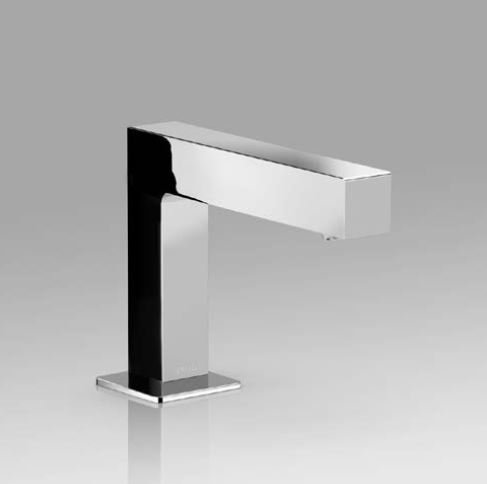 Toto TELS141#CP Axiom Bathroom Faucet Polished - Lavatory Faucet Ecopower Electronic