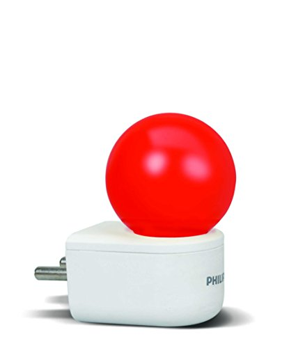 PHILIPS 0.5 Wat LED Red Bulb, Pack of 1, (Joy Vision)