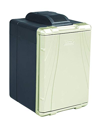 40-Quart Thermoelectric Cooler with Power Cord (Tan/Black)