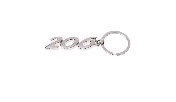 Duyummy - Llavero de aleación para Peugeot 206: Amazon.es: Hogar