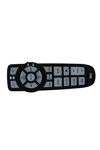 Genuine Chrysler Accessories 5107094AC Dual Channel IR Production Remote Control