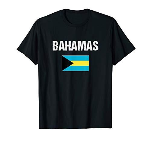 Bahamas T-shirt Bahamian Flag - For Men/Women/Youth/Kids