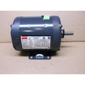 - DAYTON 31TT08/P56AF89A11 1/2HP INDUSTRIAL GENERAL PURPOSE MOTOR 208-230-460/60-50/3 RPM:1725/1-SPEED