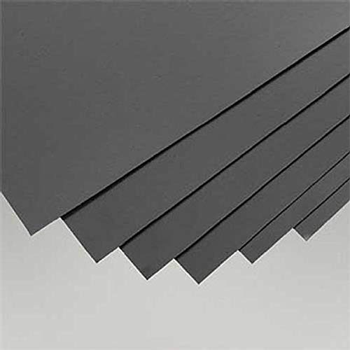 Black Styrene Sheets, .02x8x21