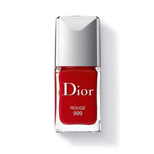 Christian Dior Vernis Nail Lacquer for Women, 999/Rouge, 0.33 Ounce