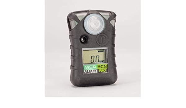 MSA 10076729 Single-Gas Detector HCN 0 to 30 ppm: Amazon.com: Industrial & Scientific