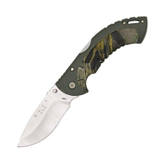 Buck 12 Point Omni Hunter TM Knife (Camo, Large), Outdoor Stuffs