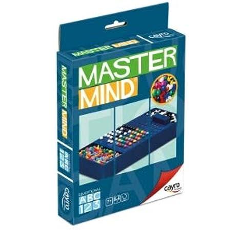 Cayro - Master Mind Colores, Juego de Viaje (+7 años) (125): Amazon.es: Juguetes y juegos