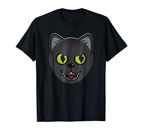 Kids Cute But Evil Killer Hissing Halloween Cat -