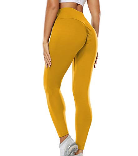 KIWI RATA Sportbroek, leggings, push-up, voor dames, fitness, hoge taille, leggings, yoga, met elastische en ademende…