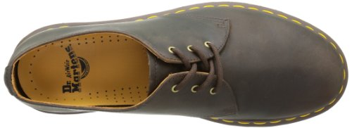 de Pw Martens Marron 1461 Analine adulte Tan Chaussures ville Dr mixte xAXfOPO