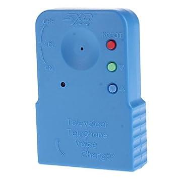 Portable Telephone Voice Changer SXD-206A,Blue: Amazon co uk