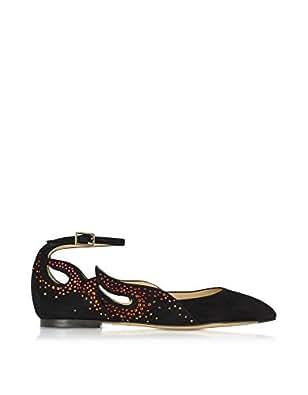 Charlotte Olympia Mujer C185668001 Negro Gamuza Zapatos