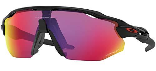 Oakley Men's Radar EV Advancer Sunglasses,OS,Polished Black/Prizm Road