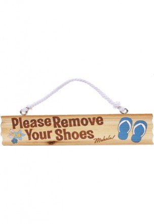 remove shoes sign hawaii - 2
