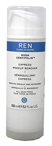 REN Rosa Centifolia Express Make-Up Remover, 5 Ounce
