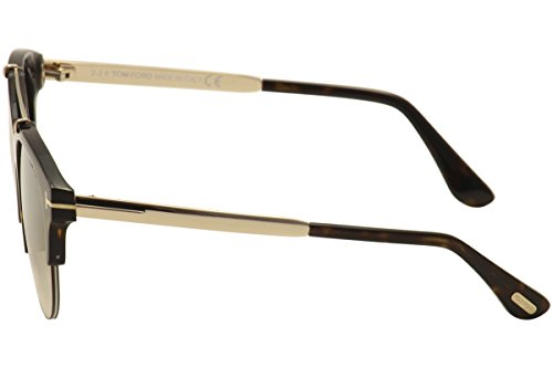 avana Specchiato Gafas Unisex 52g 55 marrone Tom Adulto De Ft0517 Scura Monturas Marrón Ford F8xwqOv
