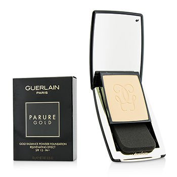 Guerlain Spf 15 Foundation (Guerlain Parure Gold Rejuvenating Gold Radiance Powder Foundation SPF 15 - # 02 Beige Clair 10g/0.35oz)