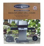 Blue Rhino Global Sourcing 00384TV GZ Grill Cover, 60 by 21 by 50-Inch