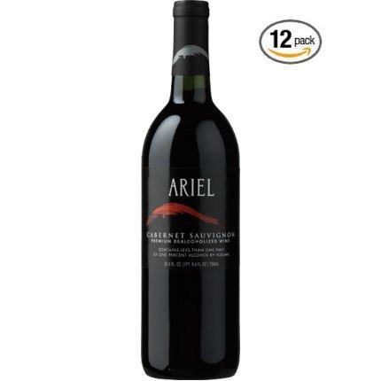 Ariel Cabernet Sauvignon Non-alcoholic Wine 12 Pack ()