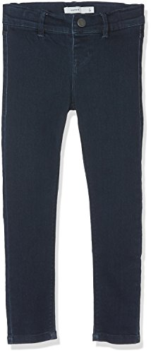 NAME IT Nittera Skinny Dnm Pant Nmt Noos, Jeans para Niñas Gris (Dark Blue Denim)