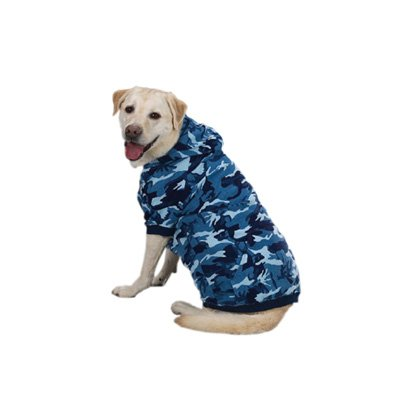 "Casual Canine Camo Hoodie for Dogs, 20"" XL, Pink"