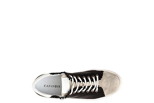 KPC133 010 Nero Intreccio Sneaker Lacci CafèNoir OSdwxqaO