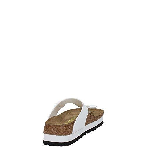 Birkenstock - Sandalias para mujer blanco