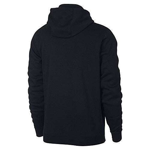 black M Pull Jdi Hoodie Nike Flc Hbr 010 Noir Homme Nsw Po dvxxn0OFS
