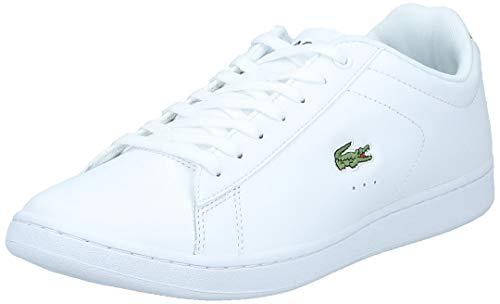 Lacoste Mens Carnaby Evo Bl 1 Sneaker, White, 9 M US