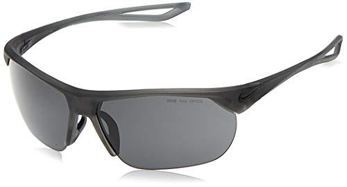 Nike EV1063-001 Trainer S Frame Dark Grey Lens Sunglasses, Matte Anthracite/Black