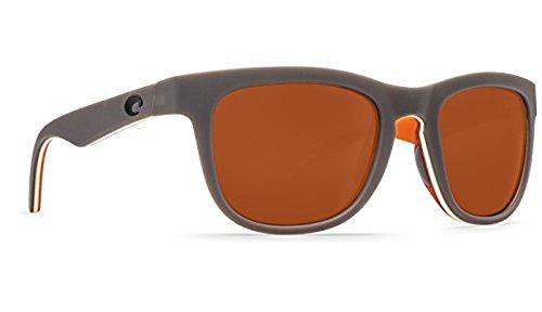 Costa Copra Sunglasses Matte Gray/Cream/Salmon Copper