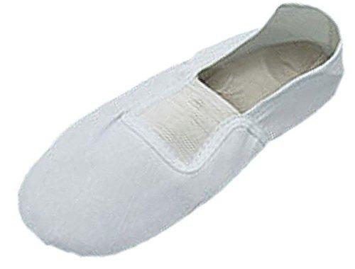 Sourcingmap Gymnastic Training White Soft Elastic Band Flat Shoes UK Size 7.5 White DhODL