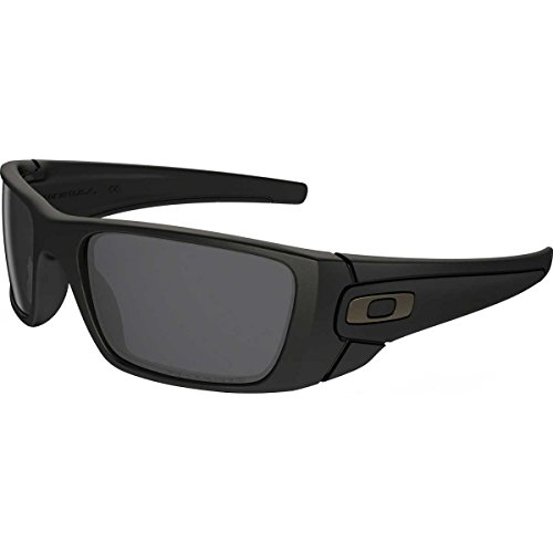 Oakley Fuel Cell Men's Polarized Lifestyle Active Sports Sunglasses/Eyewear - Matte Black/Matte Black/Grey / One Size Fits All by Oakley (Image #1)
