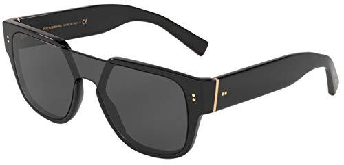 Dolce & Gabbana Men's 0DG4356-Sunglasses, Black/Grey, One Size (Dolce Gabbana Sonnenbrille Herren)