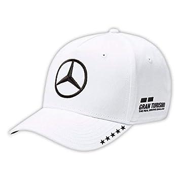 Master Lap Gorra Mercedes AMG Motorsport 2018 Lewis Hamilton Campeón Blanca