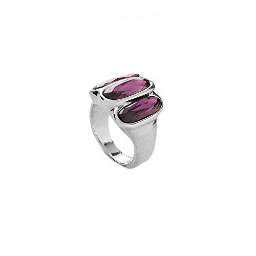 Uno de 50 STRONGER ring 7 1/2(USA)-O 1/2(UK) ANI0533MORMTL0L by Uno de 50