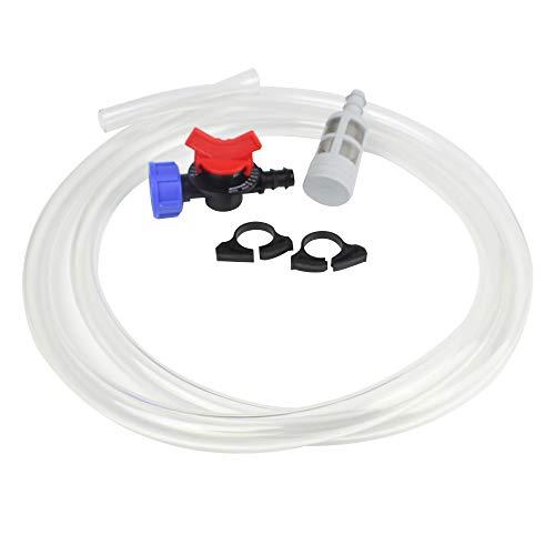 BALDR 1'' Garden Water Irrigation Venturi Fertilizer Injector Ozone Mixer Switch Filter by BALDR