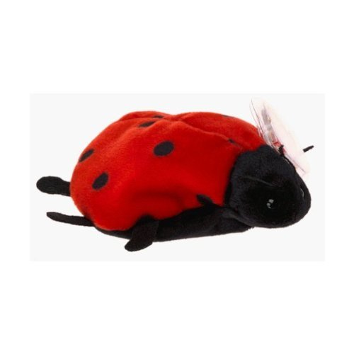 TY Original Beanie Baby - Lucky the Lady Bug - Small